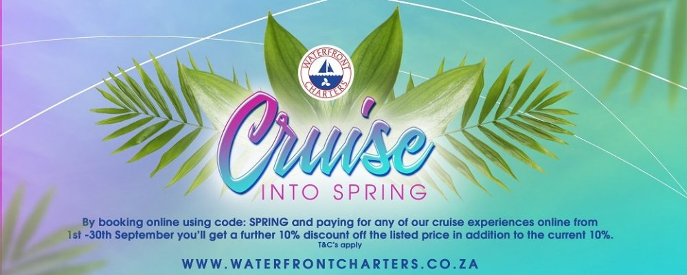 Waterfront Charters' Unmissable Spring Special